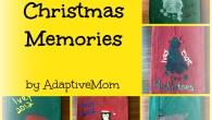 Dish Towels, memories, Christmas, kids craft, homemade, gift, holidays, present, toddler, http://www.adaptivemom.com, hands, feet, moose, Rudolph, angel, Christmas tree, penguin, Santa hat, Santa Clause, Mistletoe, mistletoes
